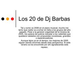 Los 20 de Dj Barbas - libreconfiguracion.org