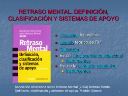 Asociación Americana sobre Retraso Mental