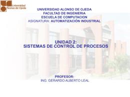 Diapositiva 1 - Ing. Gerardo Alberto Leal, MSc