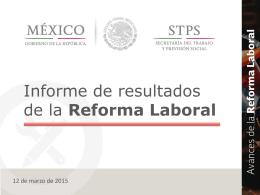 resultados de la reforma laboral