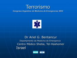 Terrorismo - Recursos Educacionales en Español para Medicina de