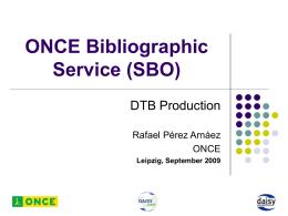 Servicio Bibliográfico de la ONCE