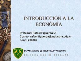 introducción a la económía - Departamento de Industria y Negocios