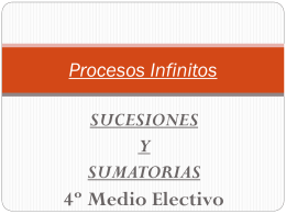 Procesos Infinitos