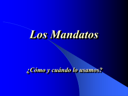 Los Mandatos - Mercer Island School District