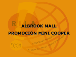 Albrook Mall te lo regala, Mini Cooper, el carro del momento