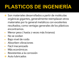 Presentacion plasticos ingenieria