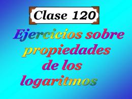 Clase 120: Ejercicios sobre Propiedades de Los
