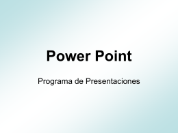 Saber usar bien un power point