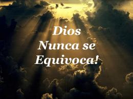 DIOS_NUNCA_SE_EQUIVOCA