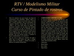 Detalles de caras - RTV/Modelismo Militar
