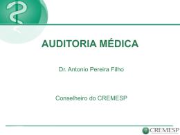AUDITORIA MEDICA PEREIRA