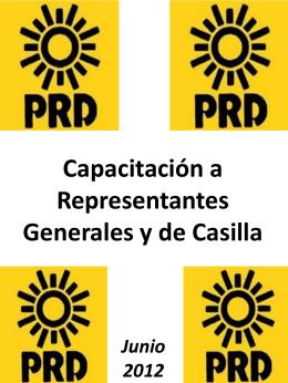 Representante en la Casilla