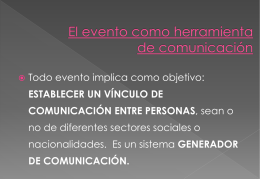 EVENTOS - Aldea Global