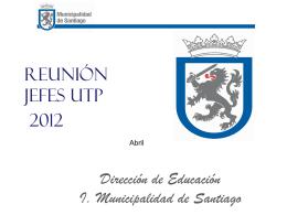 Reunion Jefes UTP