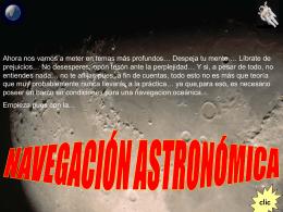 Navegación Astronómica 3