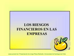 Riesgos financieros en las empresas