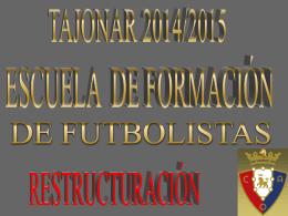 proyecto tajonar - Club Atlético Osasuna
