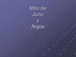 Mito de Juno y Argos