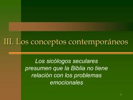 2 Los conceptos contemporáneos de consejería