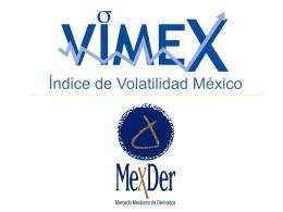 VIMEX Indice Volatilidad México