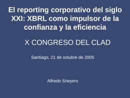 Tendencias en XBRL - TECSI