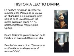 taller lectio divina basico - Cada Católico con su Biblia