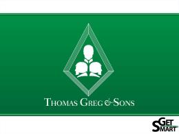 (CSC) para Thomas Greg & Sons