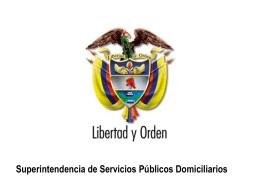 Superintendencia de Servicios Públicos