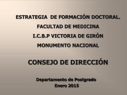 Diapositiva 1 - Postgrado de Girón