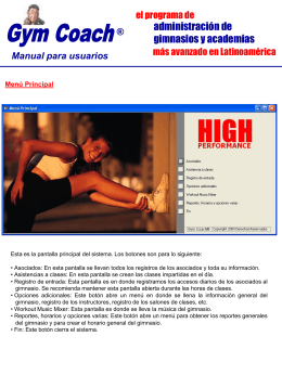 Descarga el manual del GymCoach que te guiará paso a paso