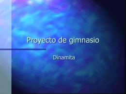 Proyecto de gimnasio