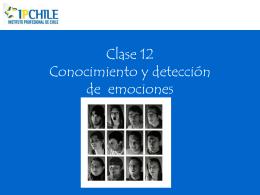 Clase 12 reconocimiento y detección de emociones Tercera parte