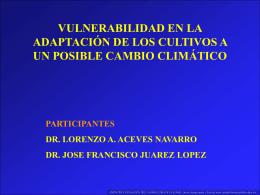 ACEVES - LPI8 Impacto y mitigacion del cambio climatico