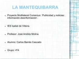 Carlos Barrés Cascado mantequibarras