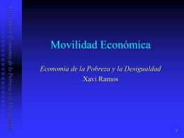Movilidad Económica