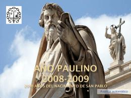Presentación general sobre San Pablo