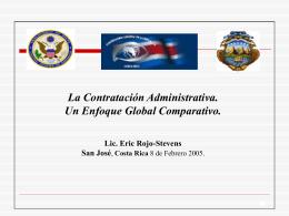 La Contratacion Estatal