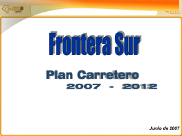 Frontera Sur Plan Carretero 2007