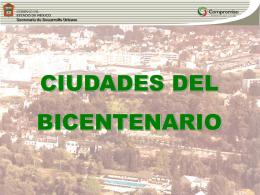 CIUDADES BICENTENARIO