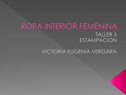 ROPA INTERIOR FEMENINA - tcolor-ge2011-i