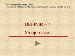 DEFINIR
