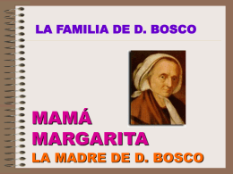 La familia de don Bosco