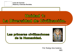 Las Primeras Civilizacioenes