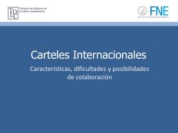 Cárteles internacionales