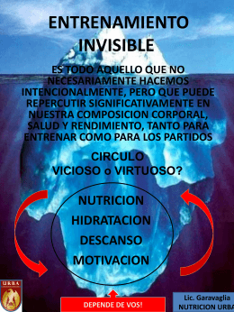 ENTRENAMIENTO INVISIBLE
