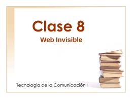 clase8 - Página de Tecnología de la Comunicación