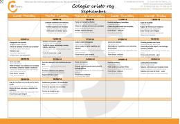 Septiembre - Colegio Cristo Rey Madrid