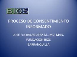 PROCESO DE CONSENTIMIENTO INFORMADO