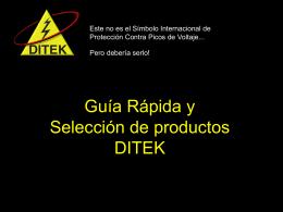DTK-DP4P Con un solo punto de aterrizaje protege los circuitos de
